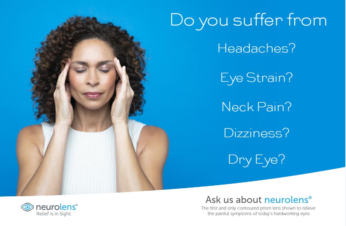 Neurolens Symptoms Check